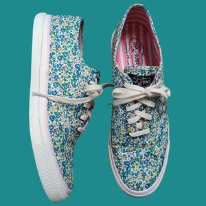 Sperry Sneakers Ditsy Floral Size 10